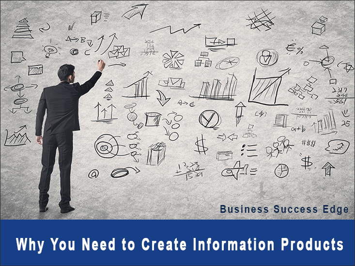 Grow your business and leverage your time by creating information products