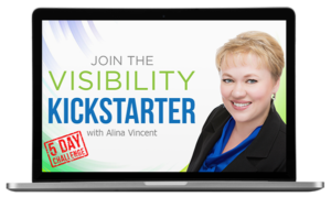 Join Visibility Kickstarter 5-day challenge